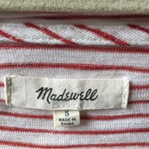 Madewell Tops - Madewell anthem forward-seam tee in stripe